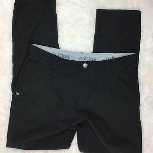 Adidas Golf Pants Size 34 / 32 Black (*6)^